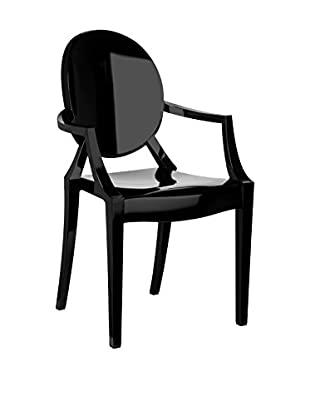 Premier Houseware  Stuhl 2er Set 2402839 schwarz