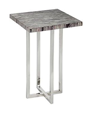Home Philosophy Mosaic Bone-Top Table, Grey