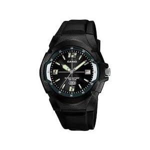 Casio Analog-Digital Black Dial Men's Watch - MW-600B-1BVDF