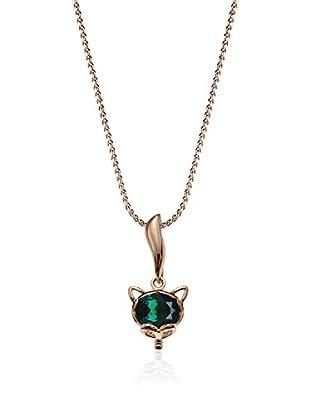 Annie Ram Collar Little Fox Metal Rosado