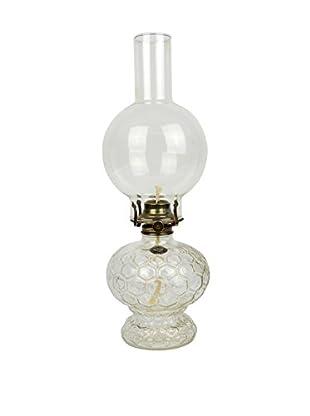 Uptown Down Vintage Lamplight Farms Glass Kerosene Lantern