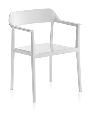 Zuo Set of 4 Delight Dining Chairs (White)