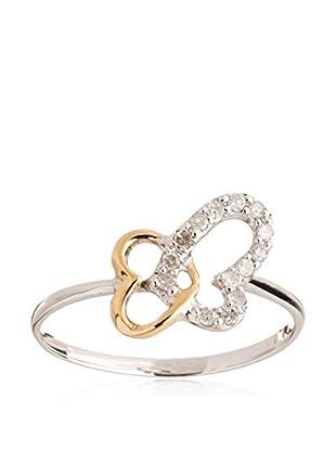 GOLD & DIAMONDS Ring Buterfly