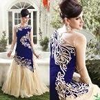EMPRESS VELVET WEDDING DRESSES