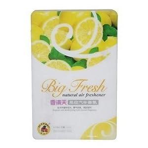 Big Fresh Car Office Home Natural Air Freshener Freshner Gel Perfume-Lemon 200g