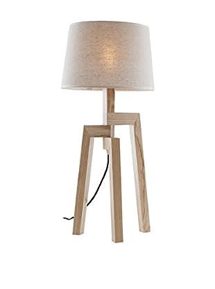 Light UP Tischlampe Wood natur