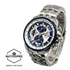 Casio Edifice EF - 558 Silver & Blue Men Watch