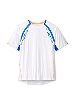 New Balance Men's Impact Short Sleeve Tee (White)