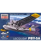 Minicraft PBY 5A USCG Model Building Kit, 1/144 Scale
