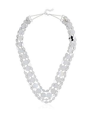 Coralia Leets Collar  Plateado