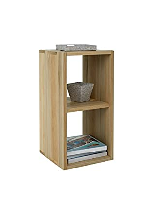 Office Ideas Bücherregal braun 68 x 35 x 35 cm