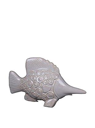 Privilege International Small White Ceramic Sword Fish
