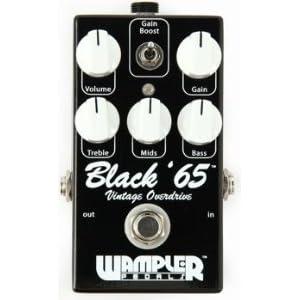 Wampler Pedals Black 65 Overdrive