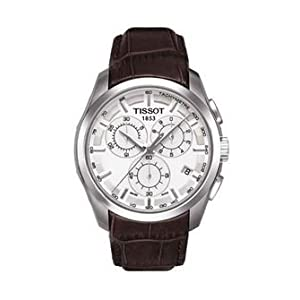 Tissot Couturier Chronograph Men'S White Dial Watch
