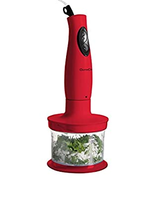 Domoclip Stabmixer 3 in 1 rot