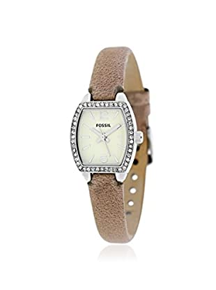 Fossil Women's BQ1212 Classic Beige Stainless Steel Watch