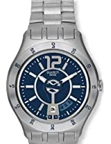 Swatch A Grayish Mode YTS404 Blue Analogue Watch - For Men