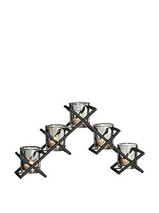 Mikasa 5-Light Crisscross Candleholder