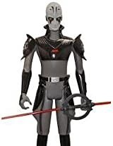 Star Wars 31 Inches My Size Deluxe Rebels Inquisitor Action Figure (Grey Face)