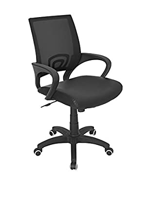 LumiSource Office Chair, Black