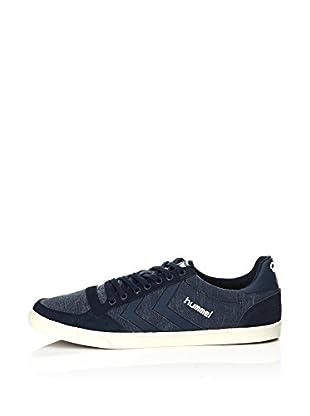 Hummel Sneaker Slim Stadil Washed Low (blau)