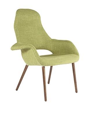 Control Brand The Organic High Back chair, Green