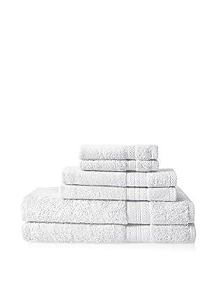 Espalma Luxe Palace Luxury 6-Piece Towel Set, White