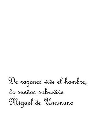 Ambiance Live Vinilo Decorativo Miguel de Unamuno