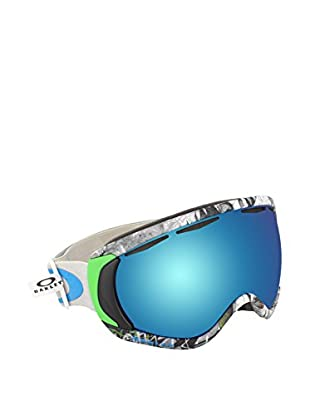 OAKLEY Skibrille Canopy grau/blau