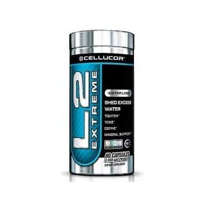 Cellucor L2 Extreme Water Loss Supplement, 80 Capsules