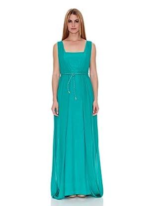 Naf Naf Vestido Lila (Verde)