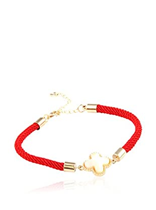 CHAMAY Pulsera Red Toned