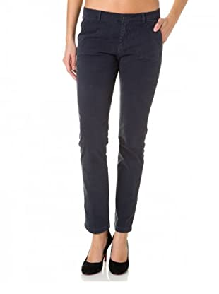 7 for all Mankind Chino Roxanne Cotton Drill (Blau)