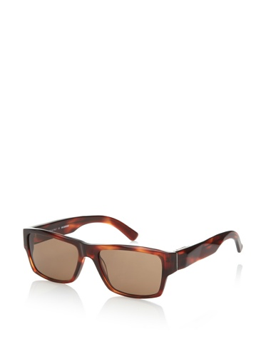 Jil Sander Women's Faceted Sunglasses, Warm Havana
