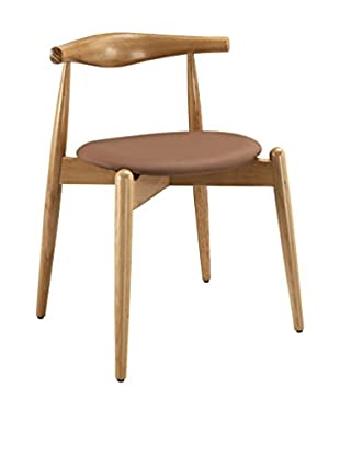Modway Stalwart Dining Side Chair (Natural/Tan)