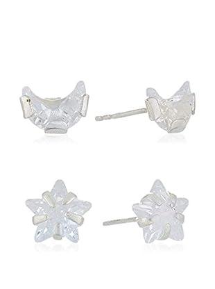 Silver Luxe Set orecchini x 2 argento 925
