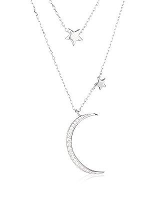 DI GIORGIO PARIS Halskette Bgn1601291-02 rhodiniertes Silber 925