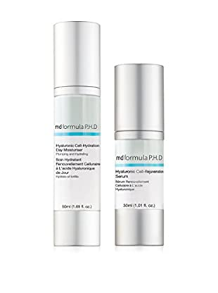 MD Formula Set Trattamento Viso 2 pezzi Hyaluronic Cell-Renewal 80 ml