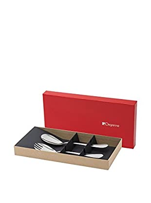 Guy DeGrenne 2-Piece Confidence Salad Serving Set, Mirror