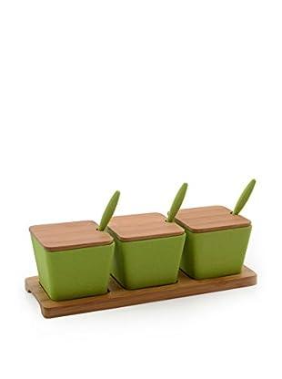 BergHOFF CookNCo 10-Piece Jar Set, Green