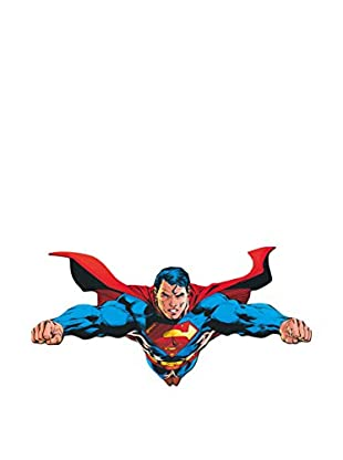 Artopweb Panel Decorativo Dc Comics Flying Over Metropolis Legno