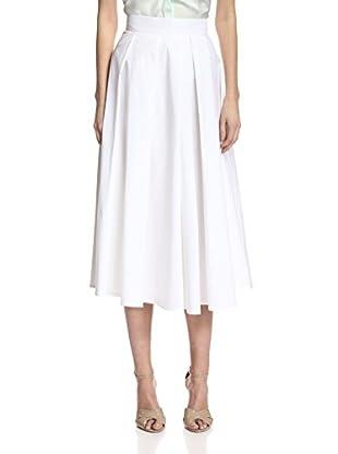 Beatrice B Women's Pleated Midi Skirt