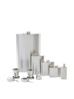 8-Piece Flask Set