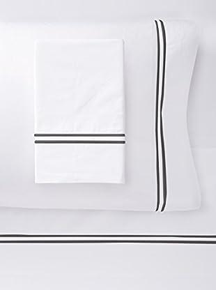Dea Mimosa Sheet Set (White/Black)