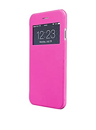 UNOTEC Funda Flip-S iPhone 7 Plus Rosa