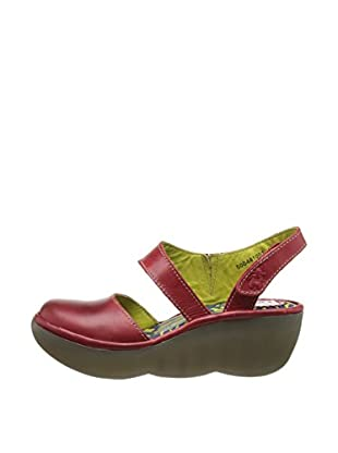 Fly London Zapatos Beau (Rojo)