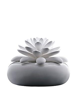 CHANDO Elegance Collection White Lotus Diffuser with 2.7-Oz. Rose Garden Fragrance