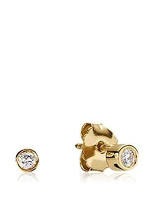 Pandora Ohrringe  silber/gold
