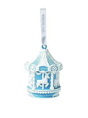 Wedgwood Baby's 1st Carousel 2015 Ornament, Blue