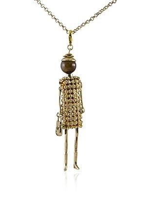MUSAVENTURA Collar  Doll Gold 2 Dorado